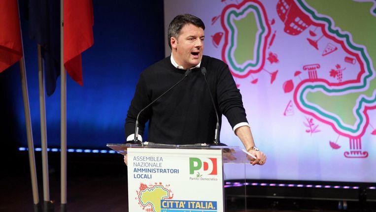 Matteo Renzi Beeld anp