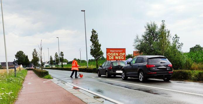 Door het ongeval was de Ieperstraat een tijdlang volledig afgesloten voor het verkeer
