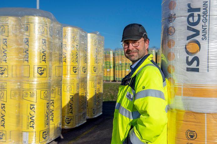 """Plantmanager Mark Rippens: """"Glaswol is een product met een grote toegevoegde waarde."""""""
