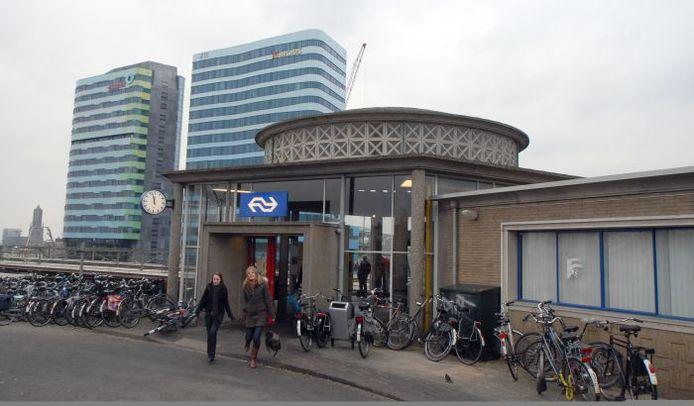 Het koepelgebouwtje van het Arnhemse station. Foto: Jan Wamelink