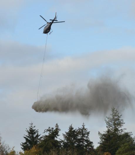Tonnen gemalen steen uit de lucht: 'Operatie steenmeel' start maandag in de Maashorst