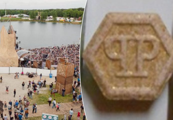 De Belgische politie waarschuwt voor deze xtc-pillen met extreem hoge dosering na het overlijden van een Nederlander op een dancefestival.