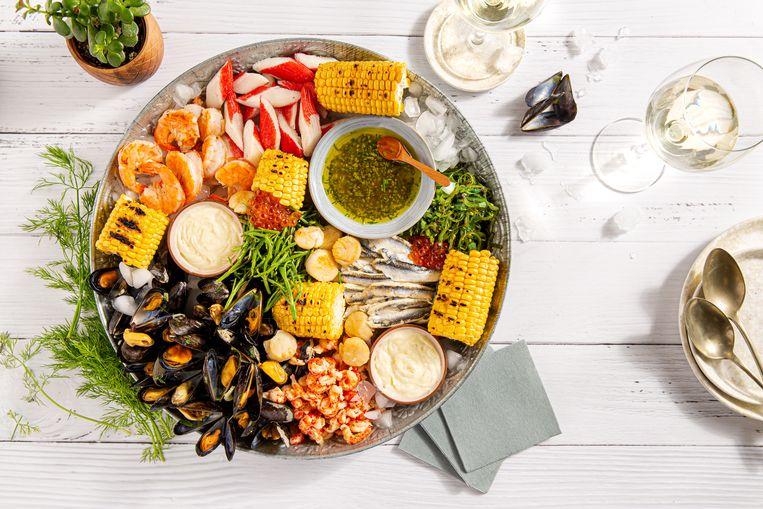 Fruits de mer. Beeld -