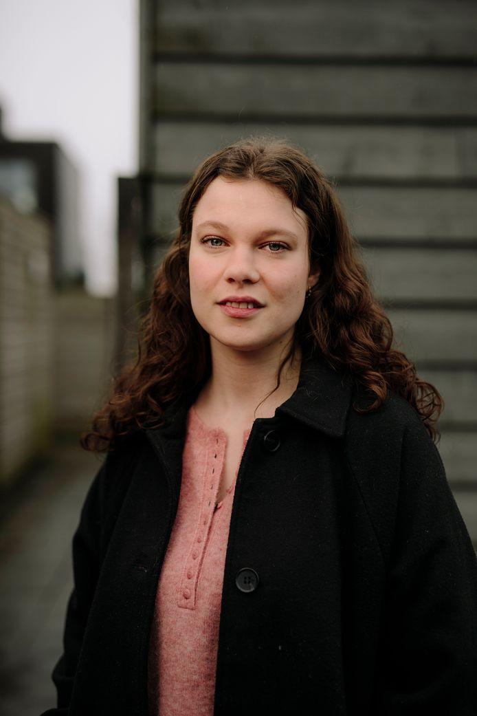 Evelien van Alphen deed onderzoek bij inloophuizen voor kankerpatiënten, onder meer bij De Cirkel in Helmond.