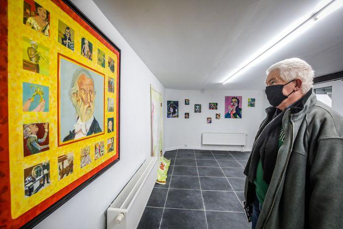 De Kunstacademie exposeert in het CAS in de Musinstraat.