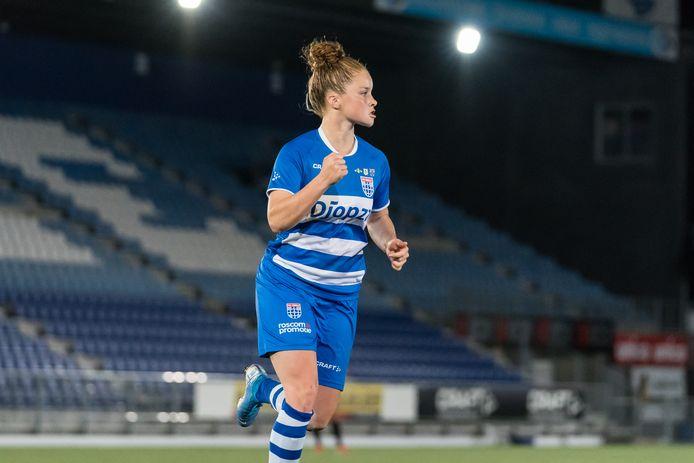 Nikita Tromp verlaat PEC Zwolle vanwege een betere aanbieding van een Nederlandse club.