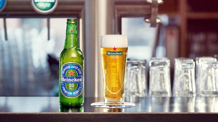 AB InBev's concurrent Heineken kwam in 2017 met een nul punt nul biertje.