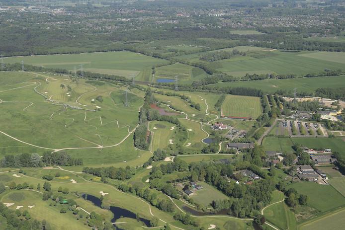 Langoed Gulbergen op de grens van Nuenen en Geldrop.
