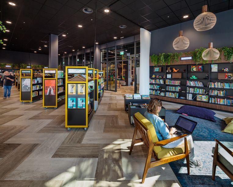 De bibliotheek.  Beeld Scagliola& Brakkee