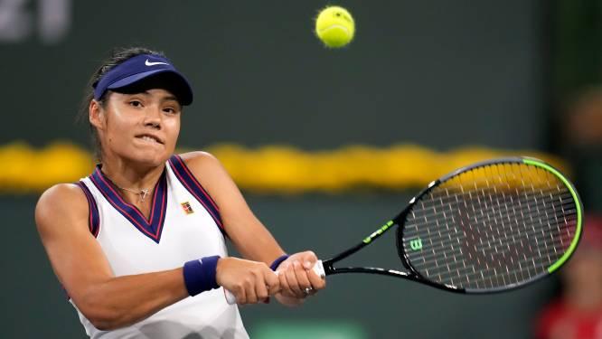 Emma Raducanu hard onderuit bij eerste wedstrijd sinds US Open-titel