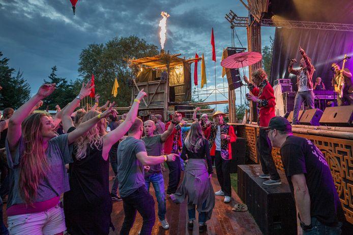 Impressie uit 2017 van Funfest Outdoor, de voorganger van festival Puur Natuur.