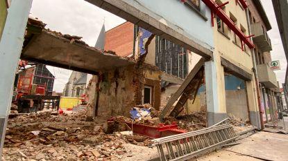 Arbeider gewond bij instorting tijdens afbraakwerken in voormalige babywinkel