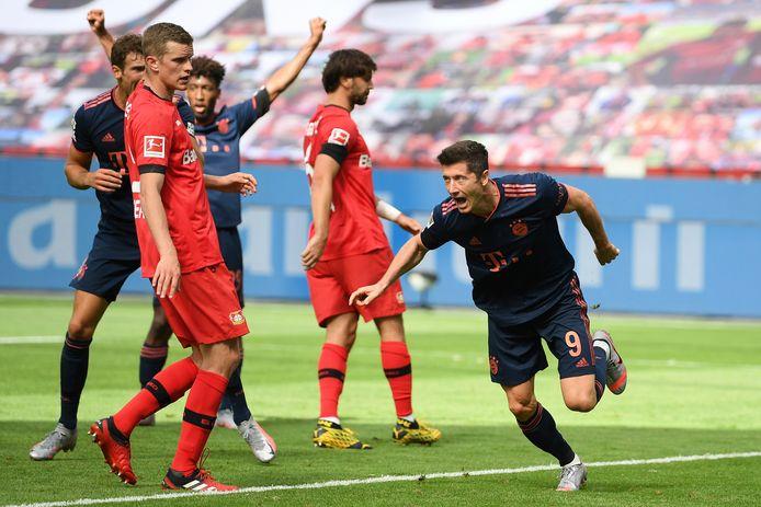 Lewandowksi heeft Bayern op 1-4 gezet.