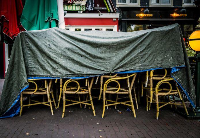 Gesloten horecagelegenheden aan het Rembrandtplein