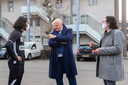 Minister Ferd Grapperhaus bezocht de wijk Hoge Vucht.