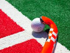 Mannen Oranje Rood lopen kruisfinales zaalhockey mis, vrouwen Son eindigen laatste