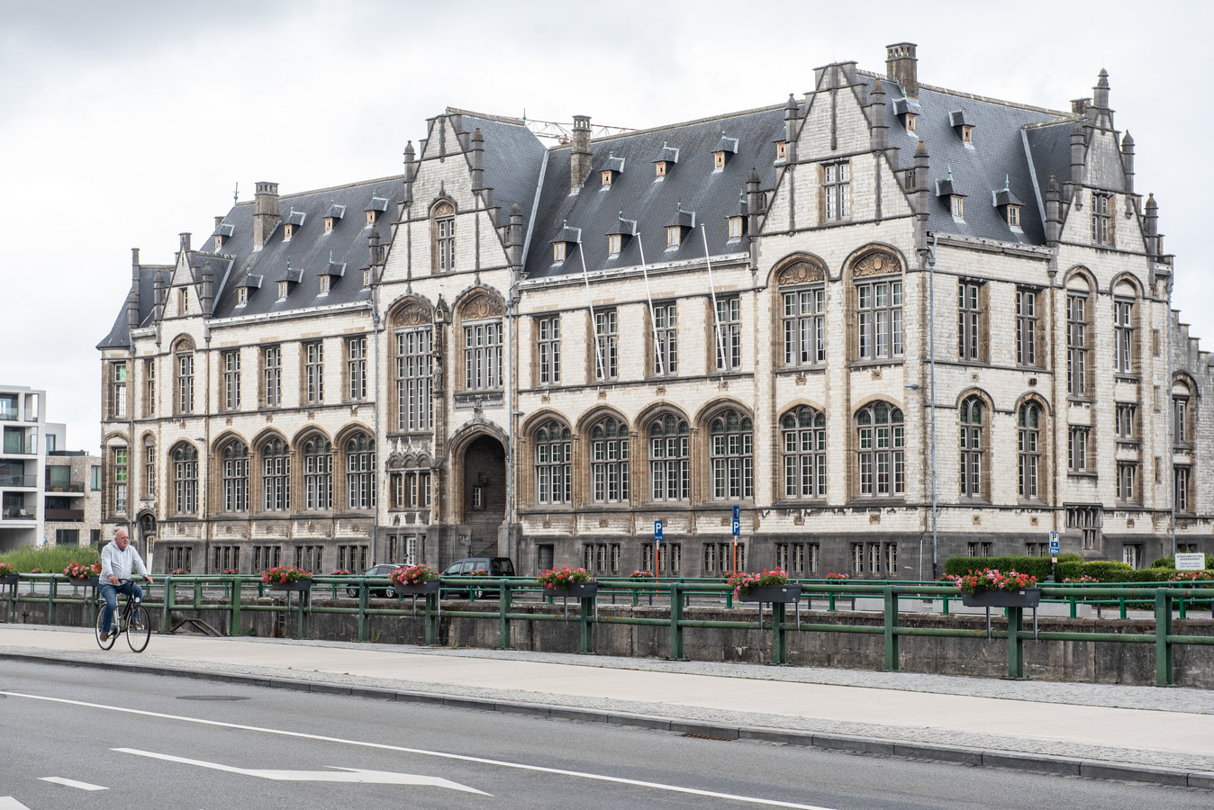 De rechtbank in Oudenaarde.