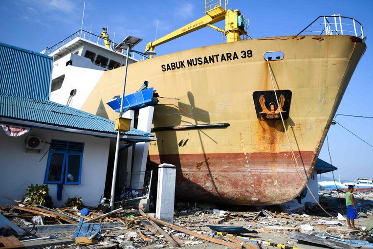 De actie is ten voordele van de slachtoffers van de tsunami in Indonesië.