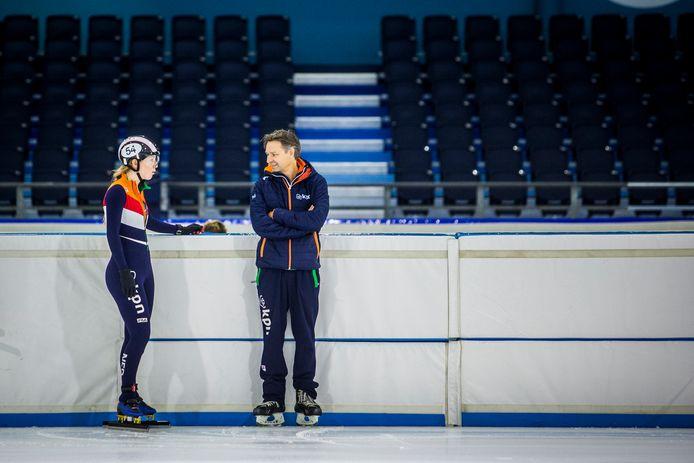Lara van Ruijven en Jeroen Otter.