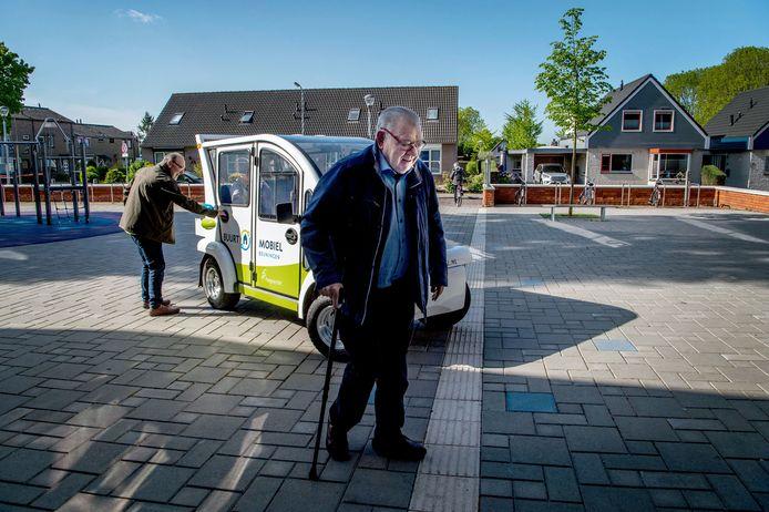 De buurtmobiel rijdt sinds begin 2018 kort in de gemeente Beuningen.