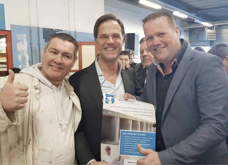 Met Mark Rutte. Beeld Traub Stuc
