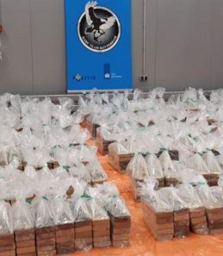 Douane vindt 1760 kilo cocaïne in container met zoete aardappelen