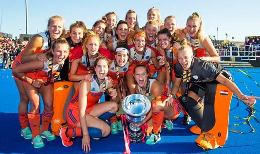 Vorig jaar was het opnieuw raak voor de vrouwen, goud bij het wereldkampioenschap in Londen.