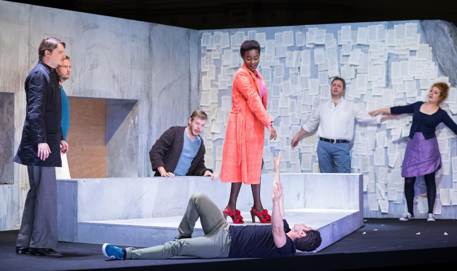 De meest recente productie van de Nederlandse Reisopera: de 'pocketversie' van de opera La Bohème.