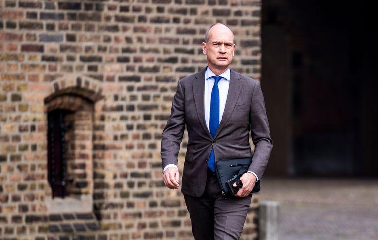 Gert-Jan Segers van de ChristenUnie weet alles van hanen die kraaien en balken in je eigen oog. Beeld Freek van den Bergh / de Volkskrant