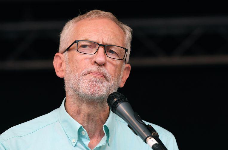 Labourleider Jeremy Corbyn. Beeld EPA