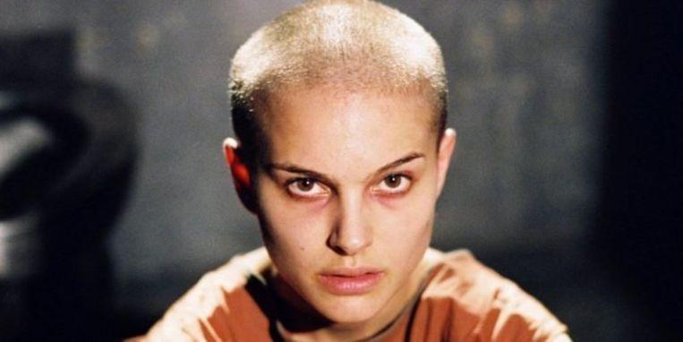 Natalie Portman in V for Vendetta. Beeld