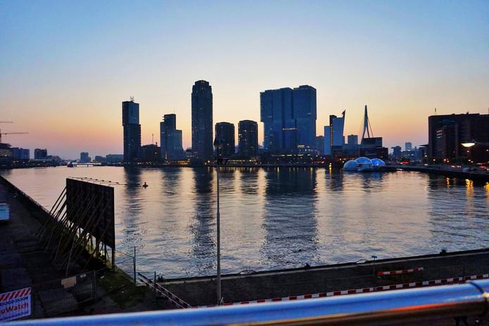Skyline Rotterdam.
