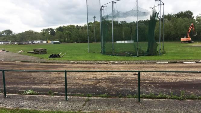 Renovatie atletiekpiste Park Groot Schijn van start om internationale normen te halen