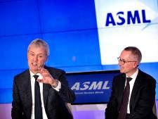 Topman Peter Wennink van ASML in Veldhoven: 'Klanten zeggen dat ze nog dit jaar terug komen'