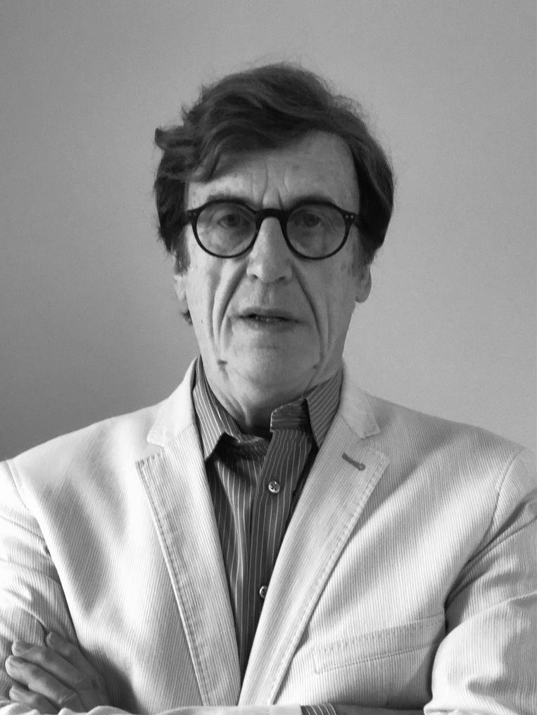 Jean-Pierre Albertini, de vader van het Bataclan-slachtoffer Stéphane Albertini. Beeld