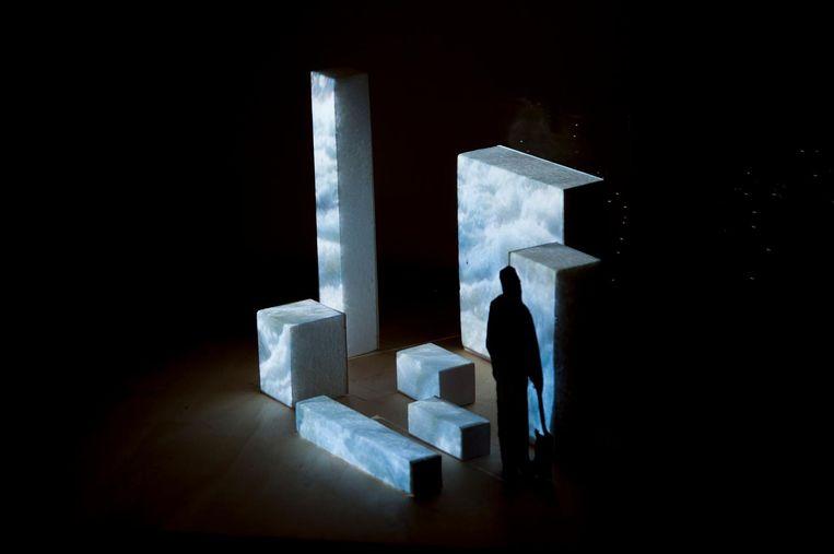 Het werk Westland Wells heet straks op de nieuwe plek Virtual Fountains. Beeld Femke Schaap