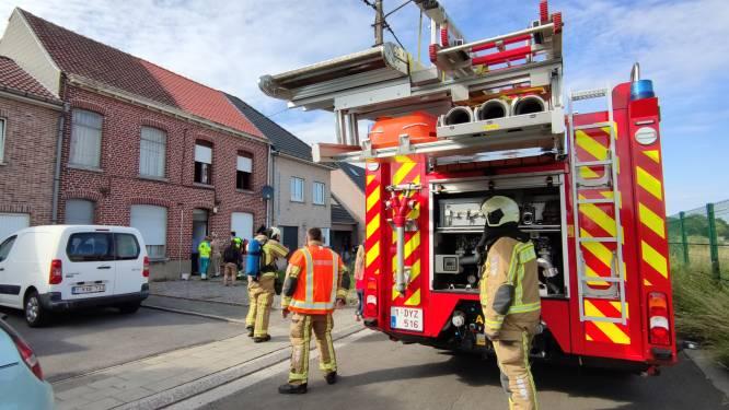 Bewoner kan brandje bij asfalteringwerken zelf blussen