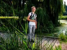 In het Hartelpark is Michael (15) altijd op zoek naar de mooiste plaatjes