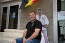 Judotrainer Guy Wils leerde Matthias Casse zijn eerste stapjes zetten in het judo.