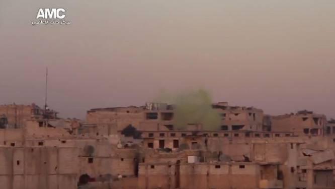 """Syrisch leger gebruikte chloorgas bij herovering Aleppo"""