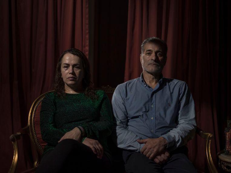 De ouders van Tavakolian.'Dit was de laatste keer dat ik mijn vader zag.' Beeld