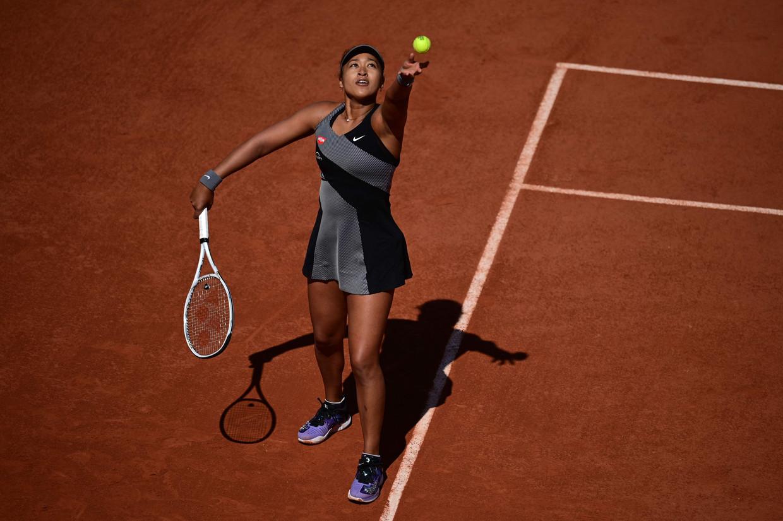 Naomi Osaka kondigde deze week aan de verplichte persconferenties tijdens Ronald Garros te zullen boycotten. Toen de toernooileiding dreigde met boetes verliet ze het toernooi.  Beeld AFP