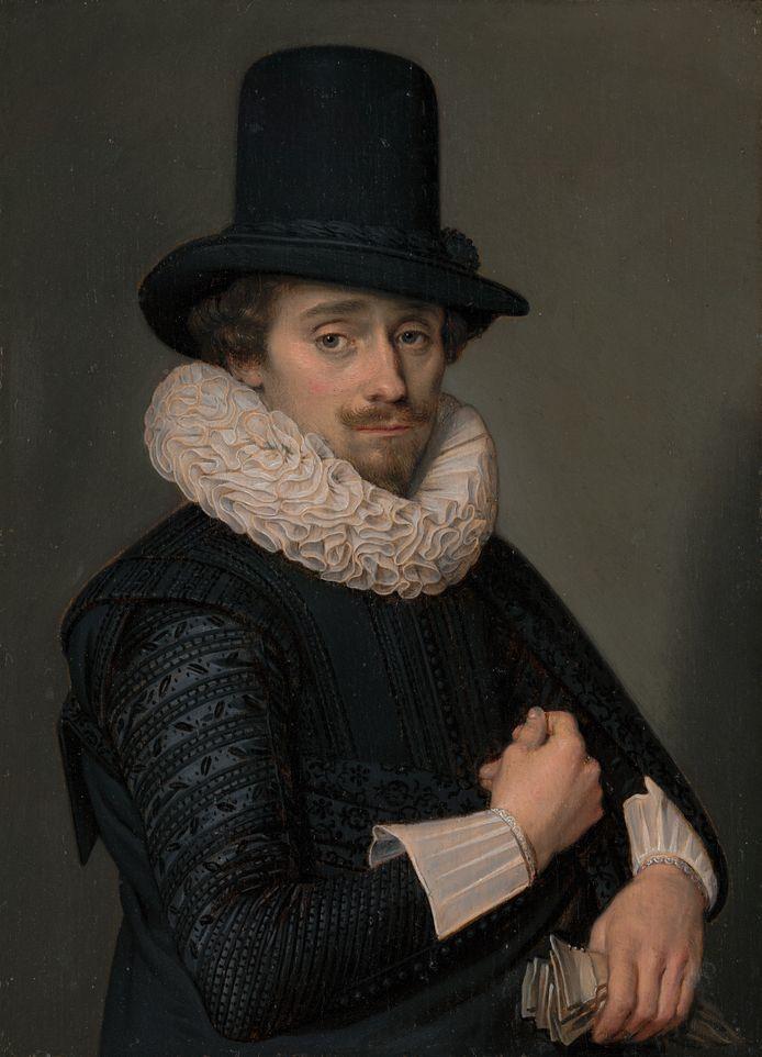 1227, Adriaen van de Venne – Zelfportret (gefotografeerd in 10 stukken).