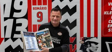 'Appie' van der Sleen heeft dozen vol FC Eindhoven-plakboeken, maar toch werkt hij bij PSV