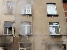 """Un blessé dans un incendie à Forest: """"Intoxiqué et légèrement brûlé"""""""