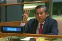 Kyaw Moe Tun, de VN-ambassadeur van Myanmar.