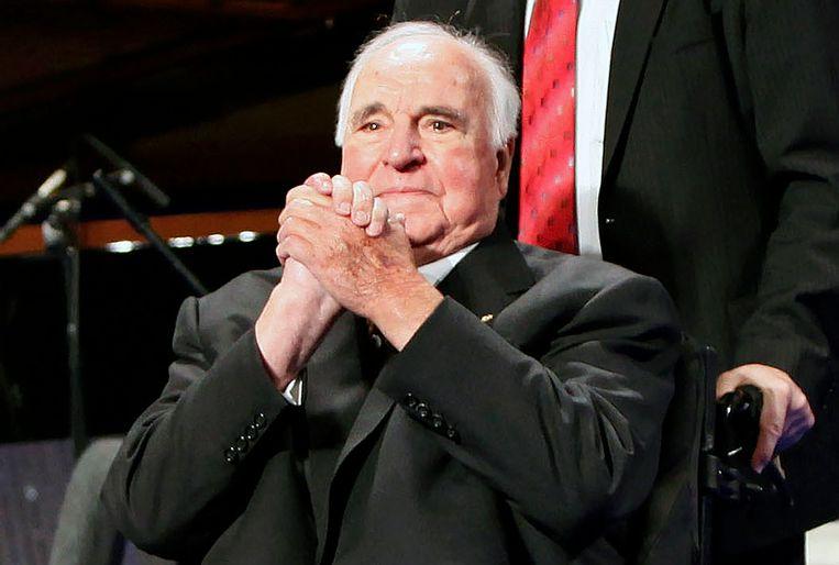 Helmut Kohl. Beeld AFP