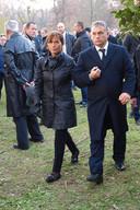 Viktor Orbán met zijn echtgenote Anikó Lévai in november 2015