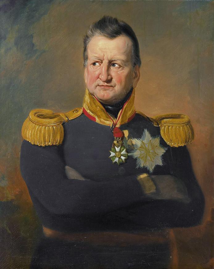 Generaal David Henricus Chassé in 1832.