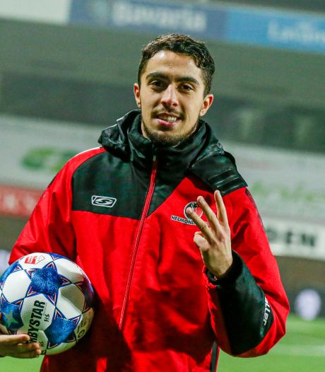 Helmond Sport-uitblinker Loukili is na hattrick nog lang niet tevreden: 'Wil er minimaal 10 maken'